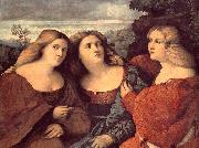 The Three Sisters (detail) dh