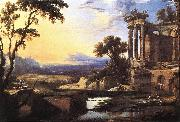 PATEL, Pierre Landscape with Ruins ag oil painting picture wholesale
