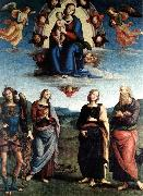 Madonna in Glory with the Child and Saints f