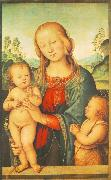 Madonna with Child and Little St John a