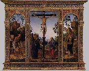PERUGINO, Pietro The Galitzin Triptych af oil painting picture wholesale