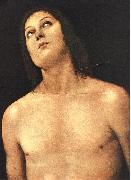 PERUGINO, Pietro Bust of St. Sebastian sg oil painting picture wholesale