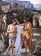 Baptism of Christ (detail) a