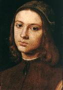 Portrait of a Young Man (detail) af