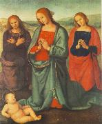 Madonna with Saints Adoring the Child a