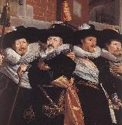Officers of the Civic Guard of St Adrian (detail) a