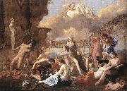 POUSSIN, Nicolas The Empire of Flora af oil painting picture wholesale