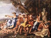 POUSSIN, Nicolas The Nurture of Bacchus ag oil painting picture wholesale