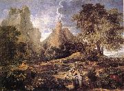 POUSSIN, Nicolas Landscape with Polyphemus af oil painting picture wholesale
