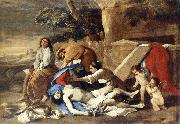 POUSSIN, Nicolas Lamentation over the Body of Christ af oil painting picture wholesale
