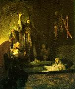 REMBRANDT Harmenszoon van Rijn The Raising of Lazarus oil painting picture wholesale