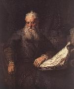 REMBRANDT Harmenszoon van Rijn Apostle Paul oil painting picture wholesale