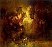 REMBRANDT Harmenszoon van Rijn Peter Denouncing Christ oil painting picture wholesale