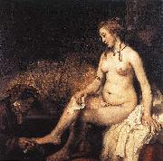 Bathsheba at Her Bath f