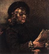 REMBRANDT Harmenszoon van Rijn Titus Reading du oil painting picture wholesale