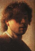 REMBRANDT Harmenszoon van Rijn Self-Portrait sh oil painting picture wholesale
