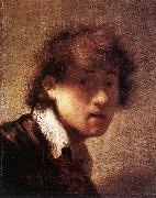 REMBRANDT Harmenszoon van Rijn Self-Portrait qw5u oil painting picture wholesale