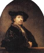REMBRANDT Harmenszoon van Rijn Self-Portrait  stwt oil painting picture wholesale