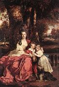Lady Elizabeth Delm and her Children