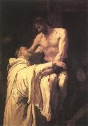RIBALTA, Francisco Christ Embracing St Bernard xfgh oil painting picture wholesale