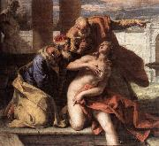 RICCI, Sebastiano Susanna and the Elders oil painting reproduction