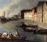 RICHTER, Johan View of the Giudecca Canal (detail) oil painting picture wholesale