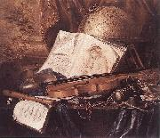 RING, Pieter de Still-Life of Musical Instruments oil painting picture wholesale