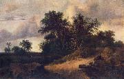Landscape with a House in the Grove at