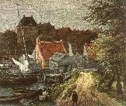 View of Amsterdam (detail) h