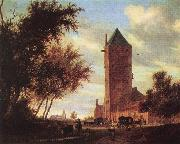 RUYSDAEL, Salomon van Tower at the Road F oil painting picture wholesale