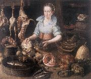 RYCK, Pieter Cornelisz van The Kitchen Maid AF oil painting picture wholesale