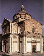 SANGALLO, Giuliano da Exterior of the church f oil painting picture wholesale