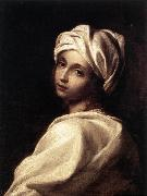 SIRANI, Elisabetta Portrait of Beatrice Cenci wr oil painting picture wholesale