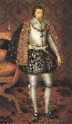 King James I of England r