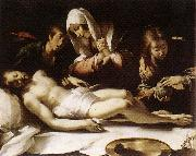 STROZZI, Bernardo Lamentation over the Dead Christ etr oil painting picture wholesale