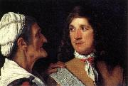 SWEERTS, Michiel Young Man and the Procuress r oil painting picture wholesale