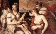 TIZIANO Vecellio Venus Blindfolding Cupid EASF oil painting picture wholesale
