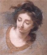 VIGEE-LEBRUN, Elisabeth Woman's Head iy oil painting picture wholesale