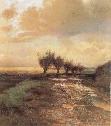 Alexei Savrasov A Country Road oil painting