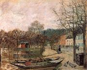 Alfred Sisley Flood at Port-Marly oil painting reproduction