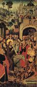 Anonymous The Entry into Jerusalem oil painting reproduction