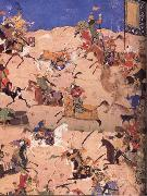 Bihzad Sikanar overcomes the Hosts of Dara oil painting reproduction