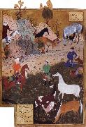 Bihzad King Darius and the Herdsman oil painting reproduction