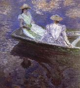 Young Girls in the Rowing Boat