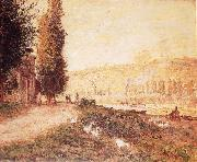Banks of the Seine at Lavacourt