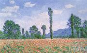 Claude Monet Poppy Field at Giverny