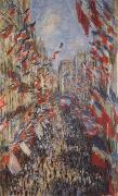 Claude Monet The Rue Montorgueil,3oth of June 1878