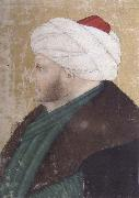 Costanzo da Ferrara Portrait of the Ottoman sultan Mehmed the Conqueror oil painting