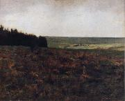 Fernand Khnopff Heaths in the Ardennes oil painting reproduction