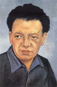 Portrait of Diego Rivera